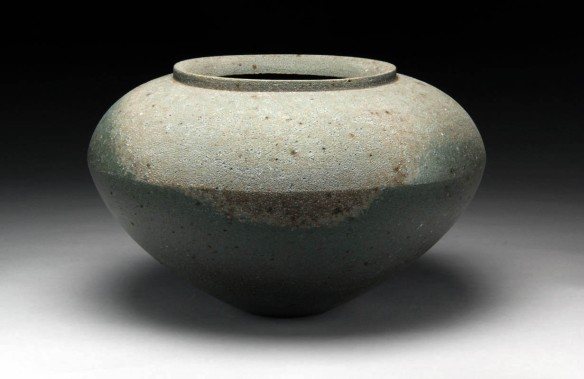Jar A // 2013 // 10.5 x 12.5 x 12.5 inches // Wood-fired local stoneware
