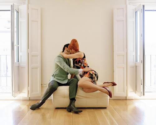 Marta Soul // Idillo en apartamento II // Courtesy Kopeikin Gallery