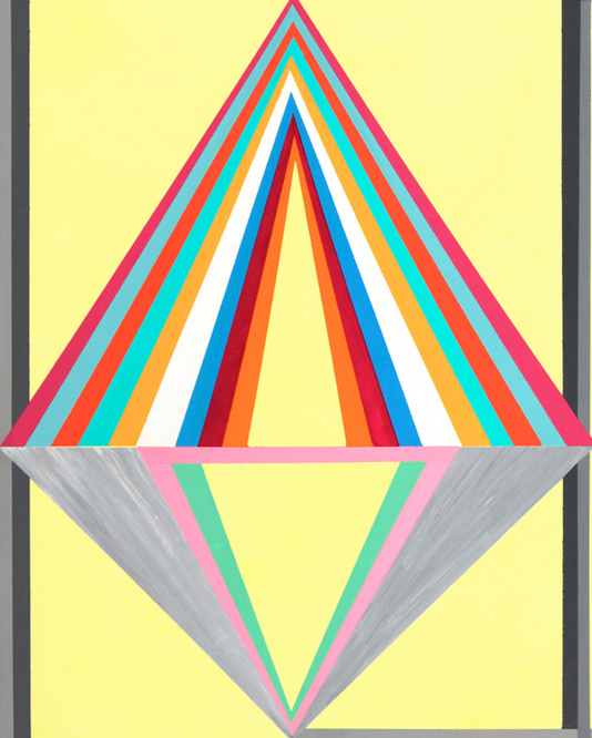 Gary Petersen // Make an Appearance // 2011 10 x 8 inches // Acrylic and gouache on masonite panel