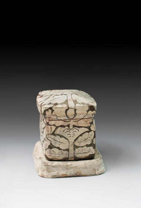 Kang Hyo Lee // My House 2 // 8.5 x 7.75 x 7.75 inches // Glazed ceramics