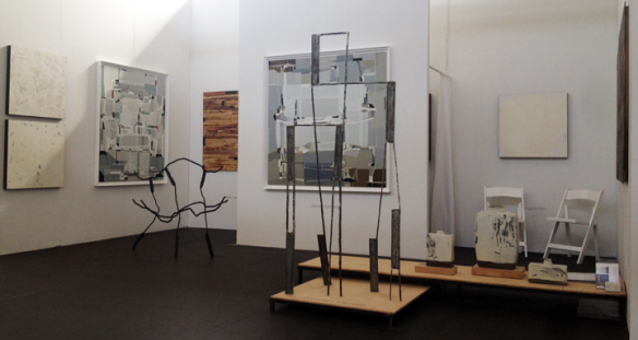 Mindy Solomon Gallery booth at artMRKT San Francisco 2014