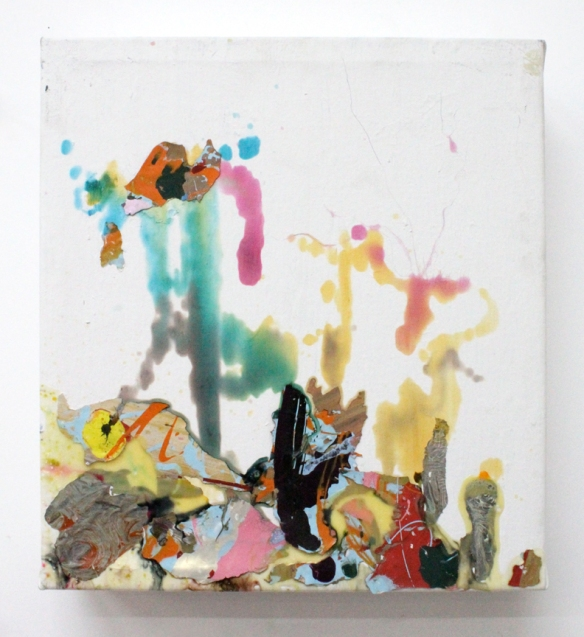 Alejandro Contreras // 3 of 5 // 2009 // 15 x 14 inches // Mixed media