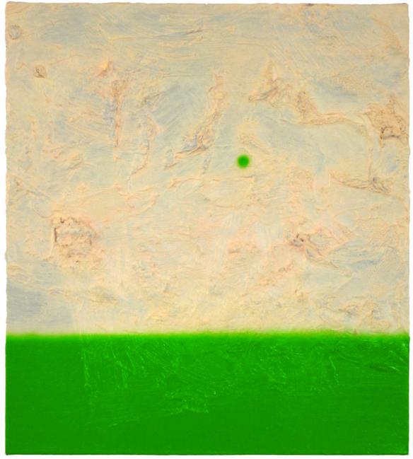 Osamu Kobayashi // Bloom // 2013 // 21.5 x 19 inches // Oil on canvas