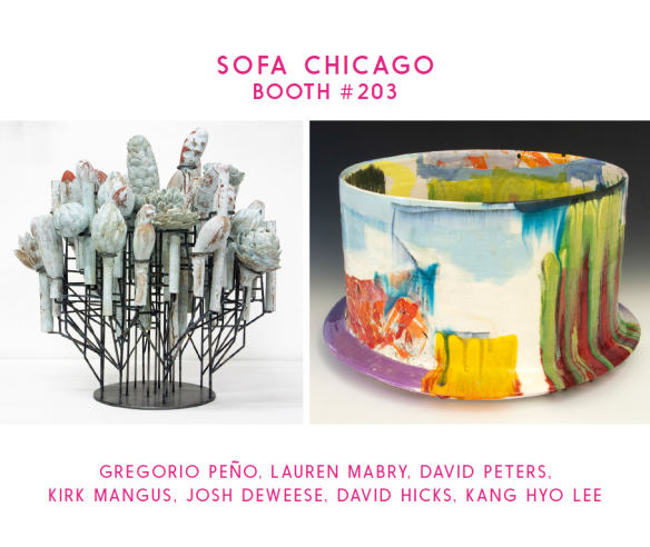 Mindy Solomon Gallery - SOFA Chicago Booth 203