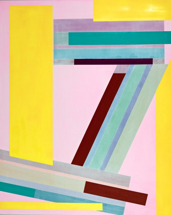 Gary Petersen // Double Up / 2013 / 20 x 16 inches / Acrylic and oil on masonite panel