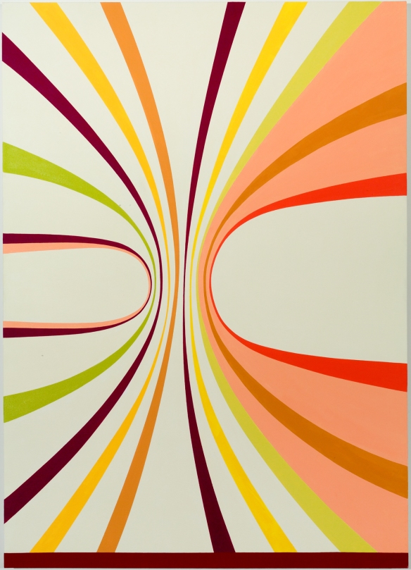 Gary Petersen // Together, 2009, 56 x 40 inches, Oil on canvas