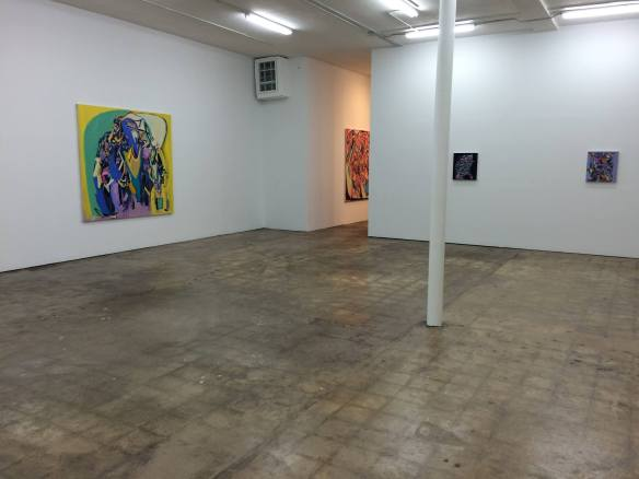"""Installation shot of Ali Smith's """"Fever Pitch"""" in our LIttle River Location"""