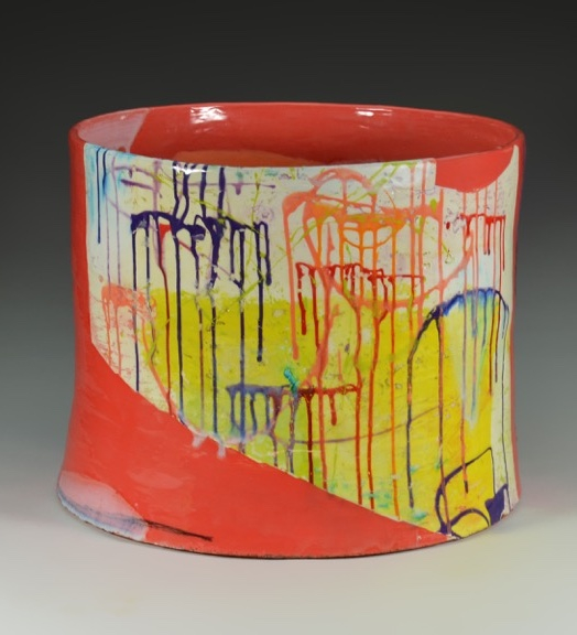 Lauren Mabry// Glazed ceramic // 16 x 19 x 19 inches